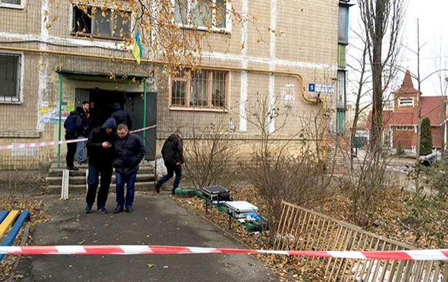 Фото: поліція на місці резонансного вбивства