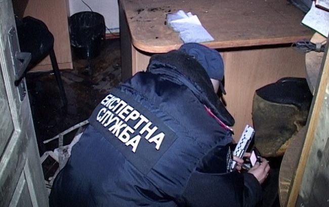 Фото: пожежа в кабінеті Миколи Дідика пошкодила оргтехніку і меблі