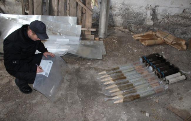 У Кіровоградській області виявили схрон боєприпасів до великокаліберної зброї