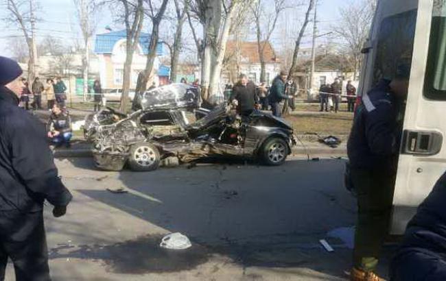 ДТП в Миколаєві влаштував поліцейський