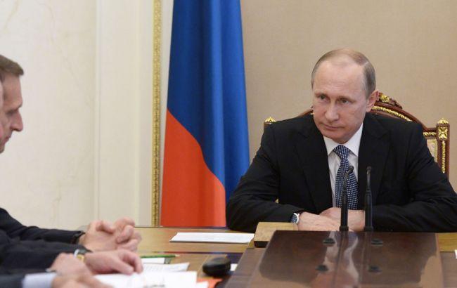 Фото: Путин якобы выступил против провокаций американского флота
