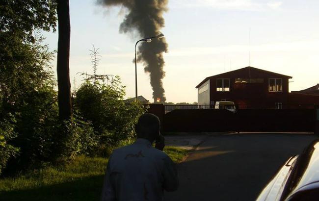 Фото: пожежа під Васильковим