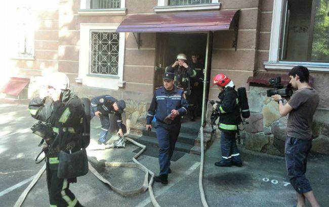 Після затримання заступника мера Тернополя в міськраді почалася пожежа