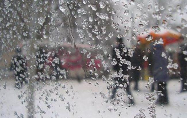 Погода на завтра: в Украине мокрый снег, температура до +11