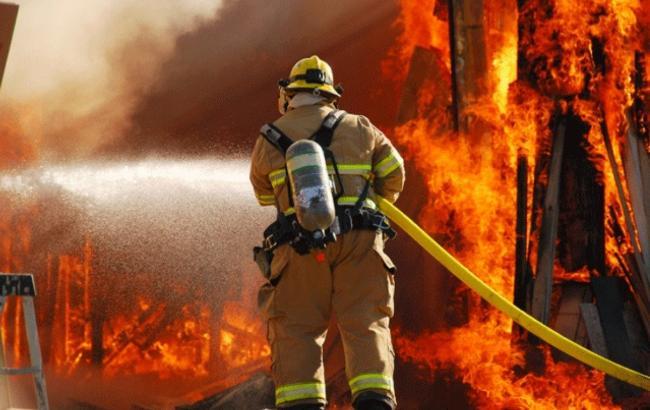 Вцентре Львова горел ресторан: появились кадры сместа происшествия