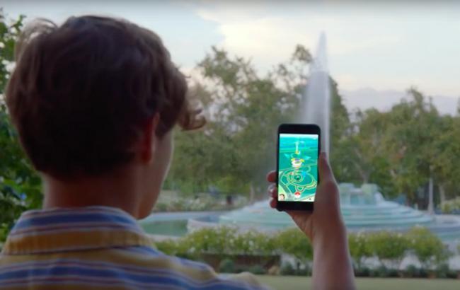 Фото: популярная мобильная игра с дополненной реальностью Pokemon Go (TechCrunch)