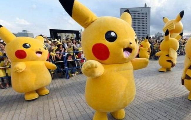 Фото: бесплатное мобильное приложение с сервисом геолокации Pokemon Go (BBC)