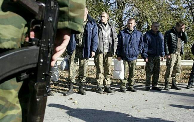Фото: пленные (facebook.com-oleg.veremeenko)