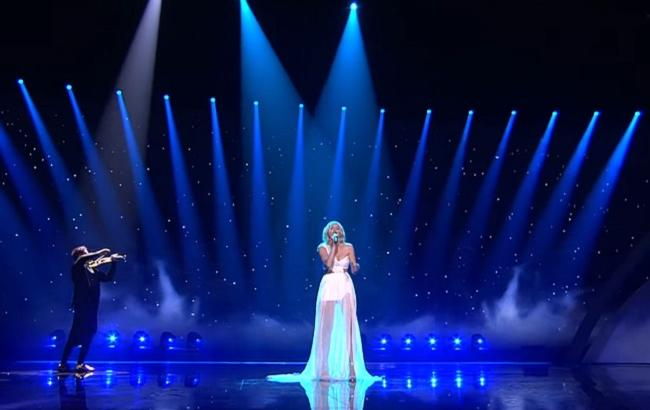 Виступ Кася Мось/ Кадр з відео YouTube-Eurovision Song Contest
