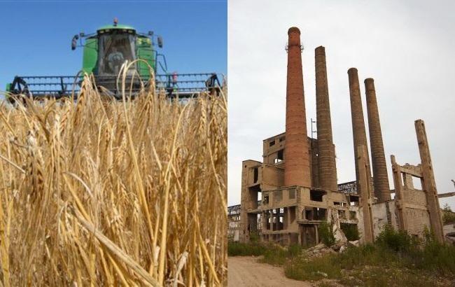 Україна перетворюється з промислової країни на аграрну