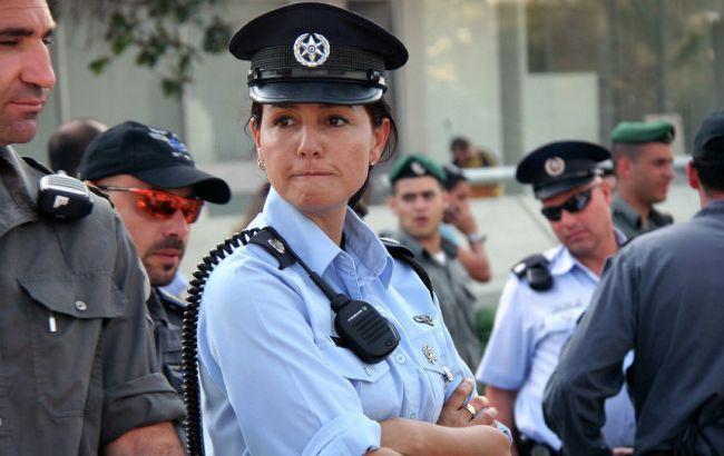 Фото: поліцейські в Ізраїлі