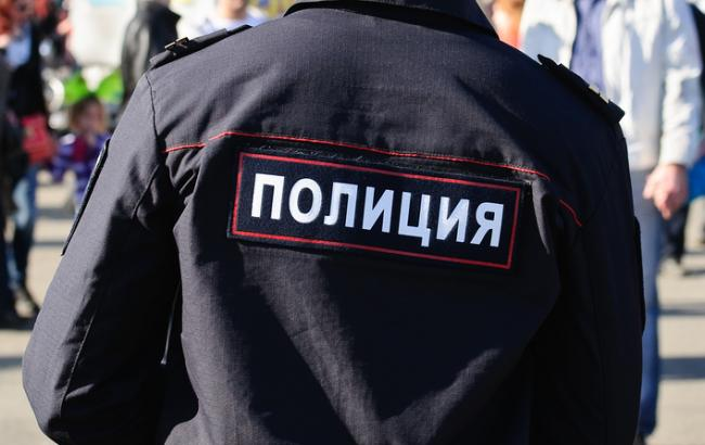 Фото: журналистов СТБ задержали в Крыму