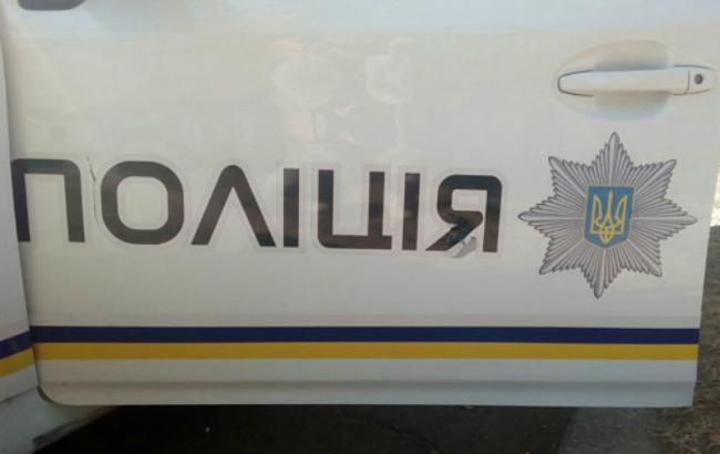 Фото: напад на миколаївських патрульних (прес-служба ГУ НП в Миколаївській області)