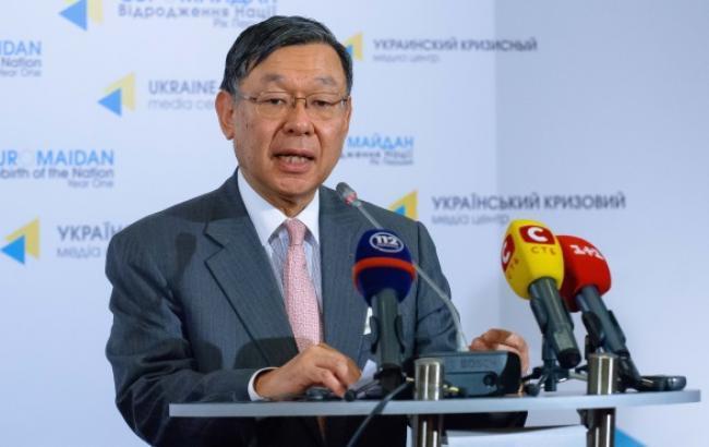Фото: посол Японії в УкраїніШігекі Сумі