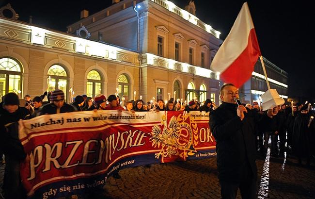 Посол Польши видит русский след винциденте намарше вПеремышле