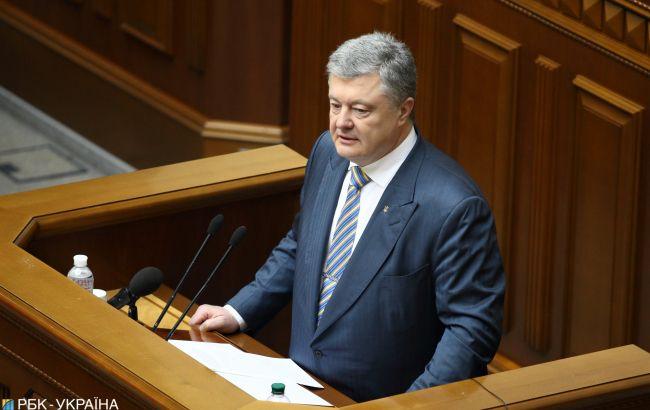 Порошенко назвав кількість загиблих на Донбасі бійців внаслідок агресії РФ