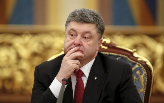 Фото: Президент Украины задумался над предложением (unian.net)