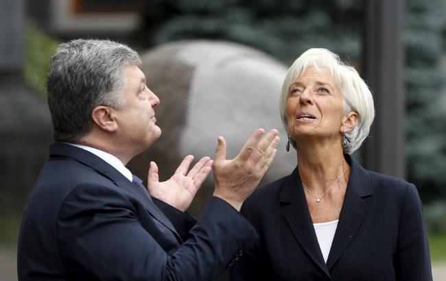 Петру Порошенко самое время уповать на благосклонность МВФ и Кристин Лагард