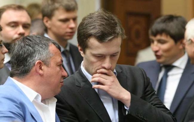 Фото: Алексей Порошенко в Раде (zn.ua)