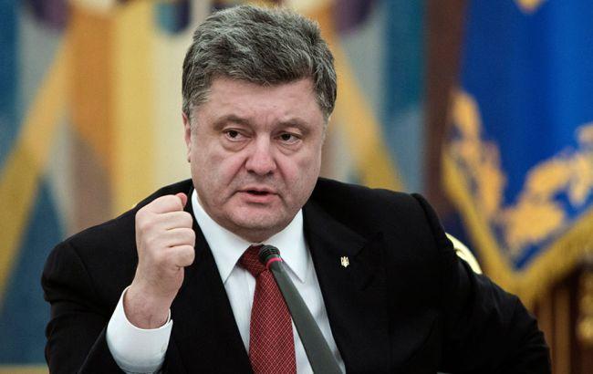 Фото: Петро Порошенко заявив про успішне випробування української ракети