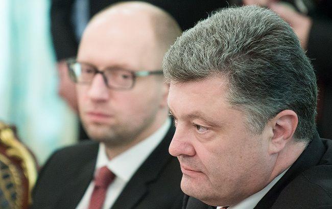 Добровольно-принудительно: Порошенко предлагает Яценюку Бальцеровича