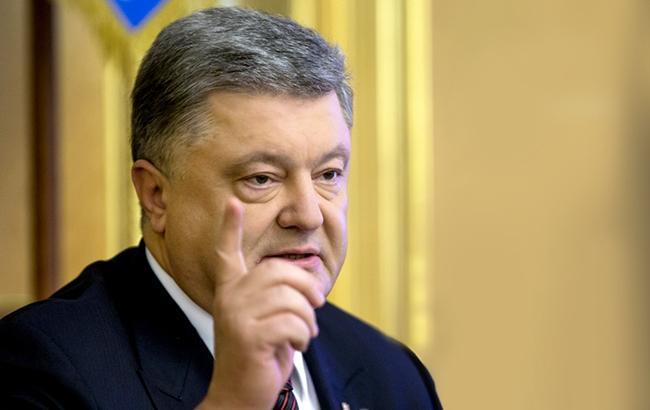 """Порошенко подчеркивает, что сначала должны быть выполнены пункты """"Минска"""" о безопасности, и только потом - политическая составляющая"""