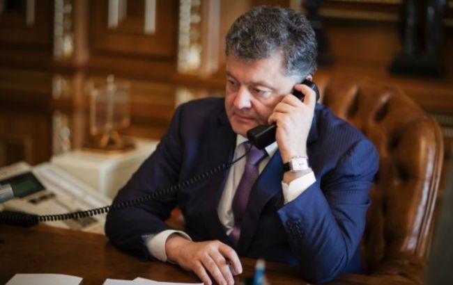 """Порошенко сьогодні ввечері проведе телефонну розмову в """"нормандському форматі"""""""