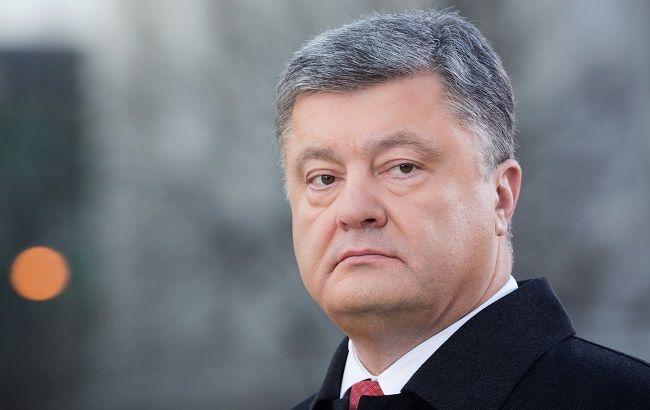 Пётр Порошенко прервал визит вФРГ из-за «гуманитарной катастрофы» вАвдеевке
