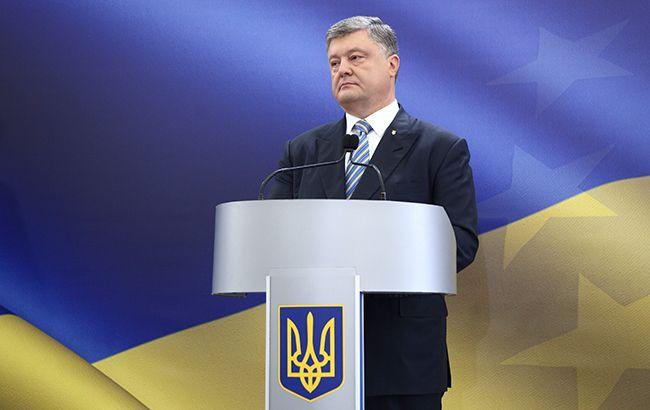 Порошенко принял верительные грамоты у послов ряда иностранных государств