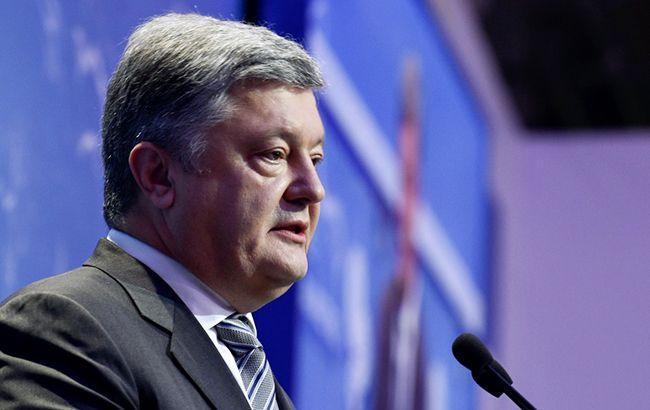 Мандат миротворцев ООН должен распространяться на весь оккупированный Донбасс, - Порошенко
