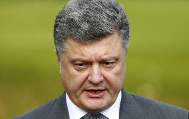 Порошенко закликав продовжити санкції проти РФ до кінця року