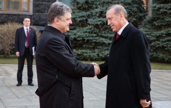 Петро Порошенко і Реджеп Таїп Ердоган