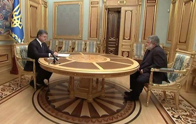 Порошенко прийняв відставку Коломойського (відео)
