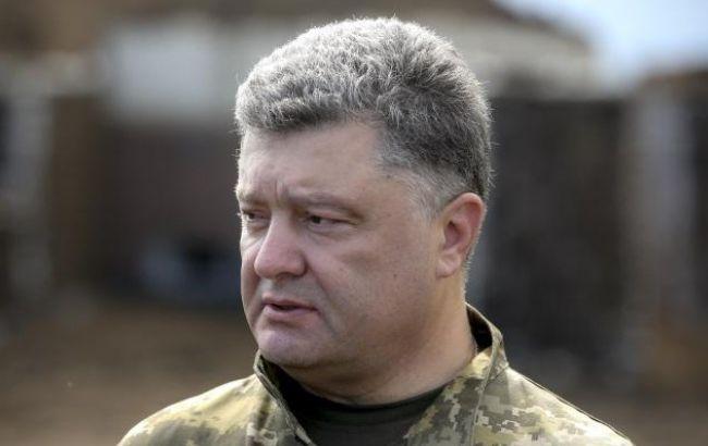 Фото: Петр Порошенко поручил за два месяца восстановить телевышку