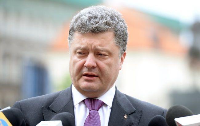 Порошенко и Туск условились продлить санкции против России