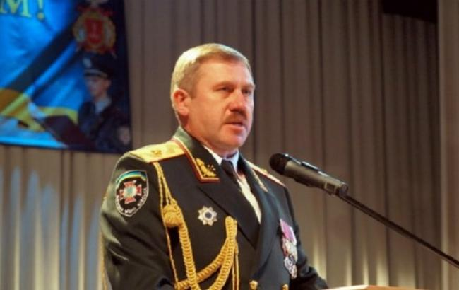 Фото: командувач Нацгвардії Юрій Аллеров