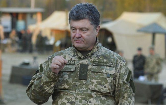 Фото: инициатор законопроекта Петр Порошенко