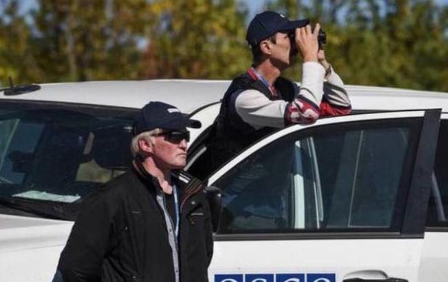 Фото: миссия ОБСЕ на Донбассе