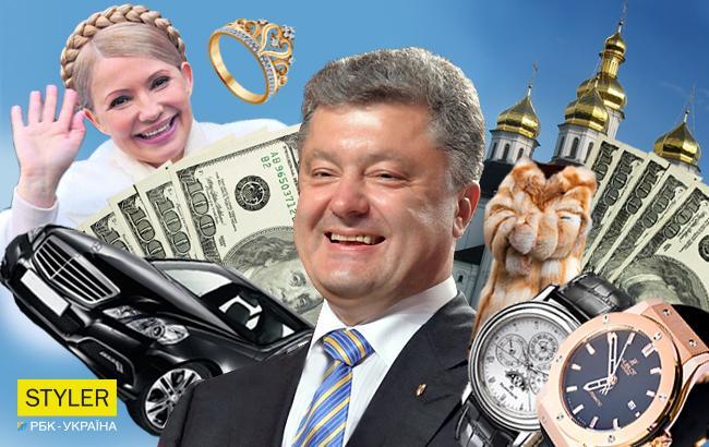 Фото: Декларации украинских чиновников заполнены, пора делать выводы (Коллаж Styler.rbc.ua)