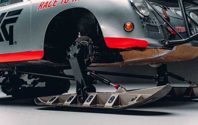 Класичний Porsche 356 змінив колеса на гусениці і лижі заради незвичайного рекорду