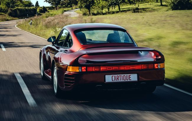 Уникальный суперкар Porsche 959 с богатой историей выставлен на продажу