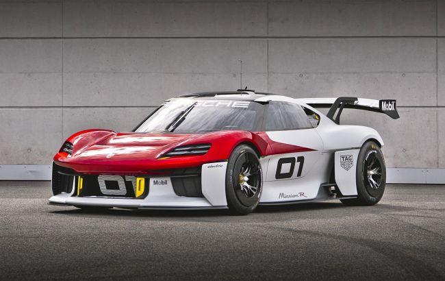 Porsche представила 1088-сильный гоночный электромобиль Mission R