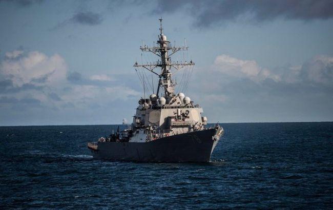 Эсминец ВМФ США прошел через Босфор в Черное море