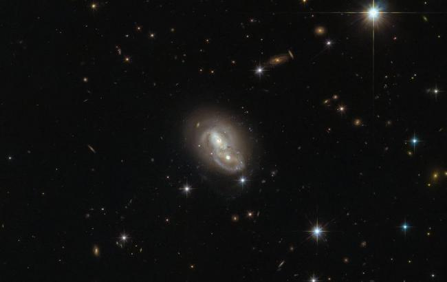 Фото: Столкновение галактик (nasa.gov)