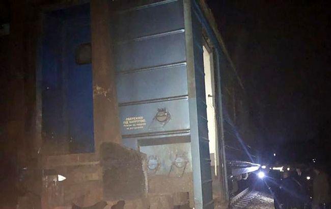 У Тернопільській області перекинувся потяг з пасажирами
