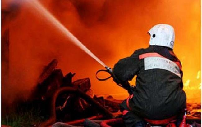 Фото: пожар в Москве