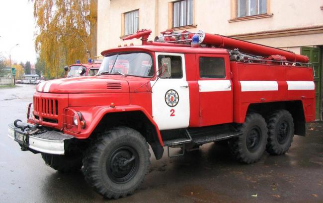 ВИвано-Франковской области врезультате пожара сгорели 15 палаток воинской части