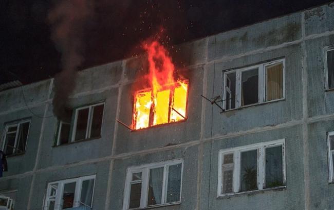 Фото: Палаючий будинок (army-news.ru)