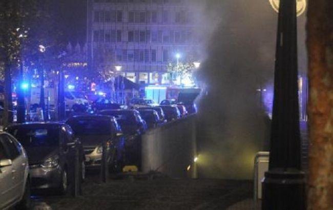 Фото: ущерб от возгорания на парковке в Бельгии оценивается как серьезный