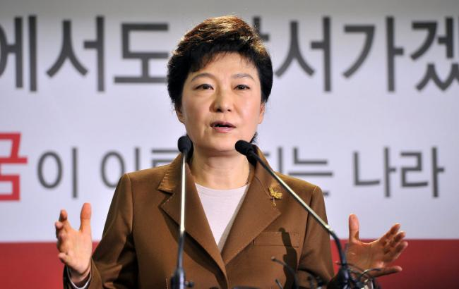 Фото: Пак Кин Хе стала першим обраним президентом Південної Кореї, позбавленим цієї посади